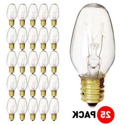 Satco 03691 - 7C7 120V S3691 Night Light Bulb