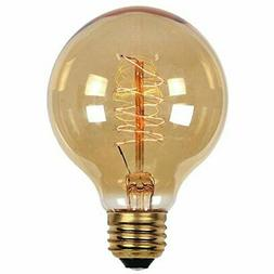 0412700 60 Watt G25 Clear Timeless Vintage Inspired Bulb wit