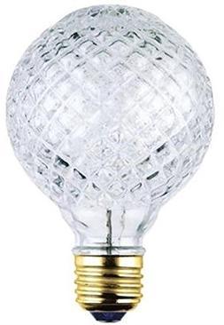 Westinghouse 05017 40 Watt Eco-Halogen G25 Cut Glass Light B