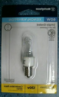 Westinghouse 06245 - 60T3/KX/E12/CD Screw Base Single Ended