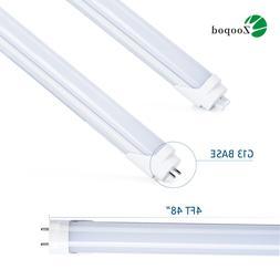 1-100Pcs T8 18W 4FT LED Tube 6000k 6500k Fluorescent Replace