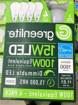 1 Case 96 Bulbs 15w Greelite LED 100 Watt Equivalent A type