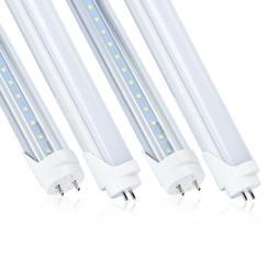 10-100 T8 18w 4ft LED Tube 4000K 6500K Fluorescent Replaceme