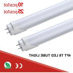 10 25 4FT LED Light 6500K Daylight White Fluorescent Replace