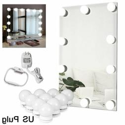 10 Dimmable Bulbs LED Vanity Hollywood Style Dressing Up Mak