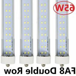 10 Pack 45W 8FT LED Tube Light Bulbs 6000K FA8 Single Pin 73