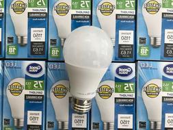 10 PACK LED 75W = 13.5W Daylight 75 Watt Equivalent A19 5000