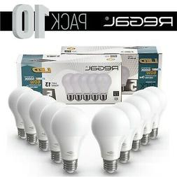 10 Pack Non-Dimmable Regal LED 5000K 60W Equivalent 9W Dayli