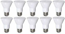 10 Pack PAR20 LED Bulb 75W Replacement, Bioluz LED Spot Ligh