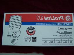 10 pack proline daylight cfl bulbs 100w