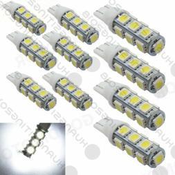 10 pcs, T10 Wedge 1.2W Bulb pure white  LED for Malibu 12V D