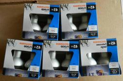 10  45W Sylvania 120V R20 Flood Light Lamp Fixtures Bulbs 5