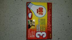 100 w traditional  incandescent light bulbs box