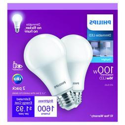 100-Watt Equivalent A19 Dimmable Energy Saving LED Light Bul