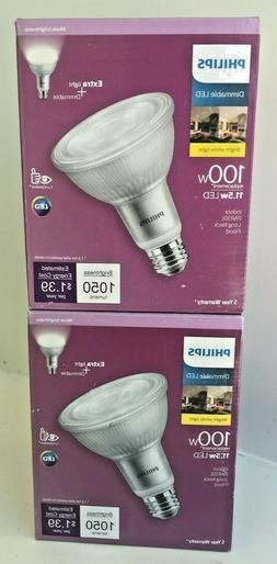 Philips 100-Watt Equivalent PAR30L High Output Dimmable Floo