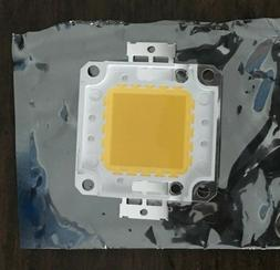 100W Watt High Power warm White 3000-3500K SMD LED Chip COB