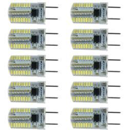 10pcs G8 Bi-Pin T5 64 3014 SMD LED Light Bulb Dimmable Lamp