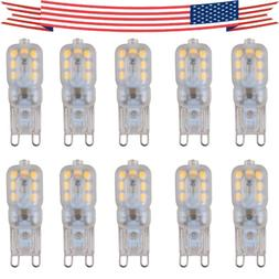 10pcs G9 5W LED Dimmable Capsule Bulb Replacement for Light