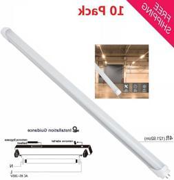 10pcs T8 18W 4ft LED Tube 3500K 6000K Fluorescent Replacemen