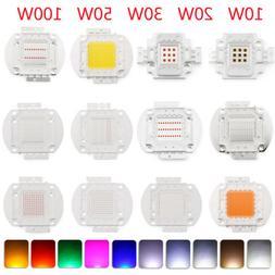 10W 20W 30W 50W 100W LED COB SMD Chip Cool Warm White High P