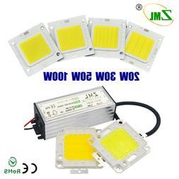 10W 20 30W 50W 100W LED High Power Supply COB Chip Driver Tr
