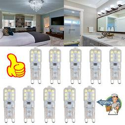 10X G4 24 LED SMD Warm White Capsule Bulb 12V 3014 SMD Repla