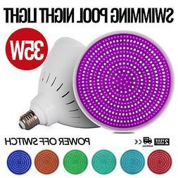 110V 35W RGB Swimming Pool LED Light Bulb underwater lights