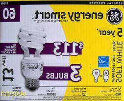 9 GE 13-Watt / 60-Watt ENERGY SMART Compact Fluorescent Ligh