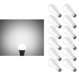 12 Pack Dimmable 15W A21 LED Bulbs 100W Watt Equivalent 5000