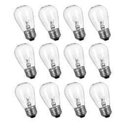 12 Pack Replacement Light Bulbs for Outdoor String Lights 11