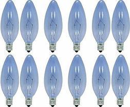 GE Reveal 60W Light Bulbs Decorative B Type Candelabra Base
