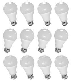 12 Pcs LED Light Bulb Energy Saving Globe Lamp A19 9W 5000K