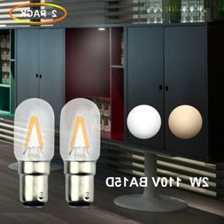 120V BA15D Double Contact Bayonet Base LED Filament Light Bu