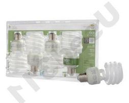 128 SOFT WHITE 23W=100W CFL ECOSMART SPIRAL ENERGY SAVING LI