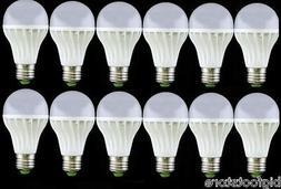 12PCS White bright Light E27 Dimmable 3W LED bulbs 85-265V 3