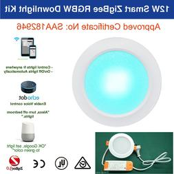 12W Echo Plus Philips Hue Compatib Smart ZigBee LED Downligh