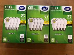 Great Value 13.5 watts 75 watt equivalent LED 4 pack Light B