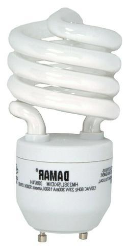 13 Watt -60 Watt Equal- Compact Flourescent Spiral Bulb GU24