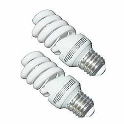 13 Watt CFL Light Bulbs  Soft White 2700K 1040LM Spiral Bulb