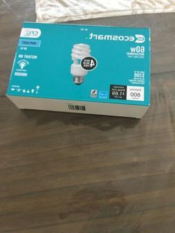 EcoSmart 14-Watt Daylight Compact Flourescent CFL Light Bulb
