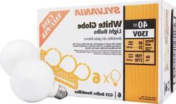 Sylvania 14190 130-Volt 40-Watt G25 Soft White Globe Case Va