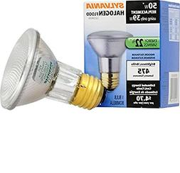 Sylvania 14502 50 Watt PAR20 Narrow Flood Light Bulb 30 Degr