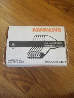Sylvania 15697 45W Medium Base Reflector Light Bulbs, Case o