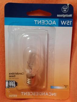15w Light bulbs for Tart Wax Warmer Light Bulb Candelabra Ba