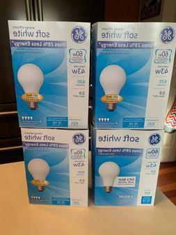 16 GE 43-Watt/60-Watt Output Soft White A19 Medium Base Ligh
