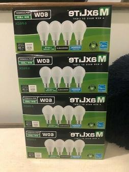 16 Pack -  60 Watt LED Light Bulbs Equivalent Dimmable DayLi