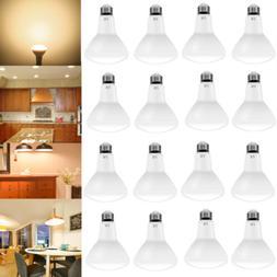 16 Pack BR30 LED Flood Light Bulb 65 Watt Equivalent 2700K W