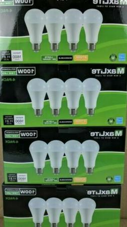 16 pack LED Light Bulbs 100 Watt Equivalent A19 Dimmable Sof