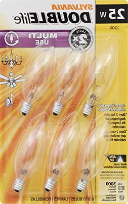 SYLVANIA Home Lighting 18748 Incandescent Bulb, B10-25W-2850
