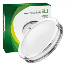 18W 12.13inch Round LED Ceiling Light Flush Mount Fixture Be